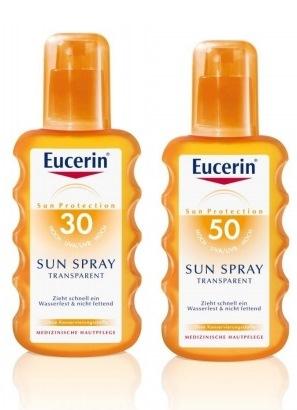 spray transparent eucerin