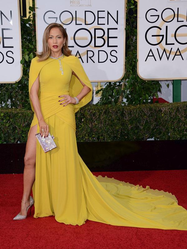 JENNIFER LOPEZ @ the 73rd Annual Golden Globe awards held @ the Beverly Hilton hotel. January 10, 2016